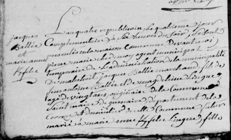 1796 mariage Marie-anne Kerfelec à Malestroit_1