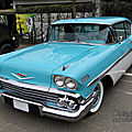 Chevrolet bel air sport hardtop coupe-1958