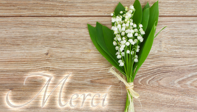 PHOTO MUGUET - MERCI
