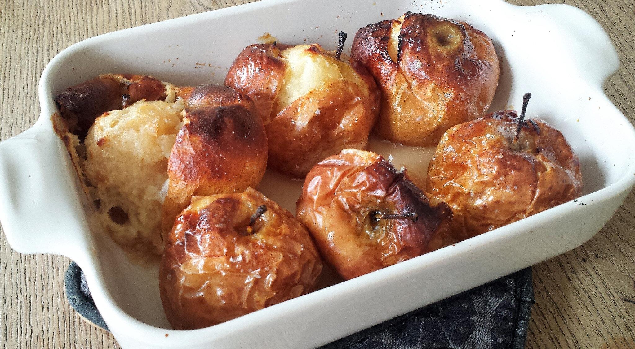 Rustiques et réconfortantes, les pommes au four
