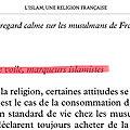 Selon hakim el karoui, le halal et le voile seraient des