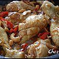 Poulet aux noix de cajou