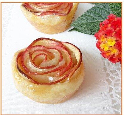 roses de pommes feuilletées19