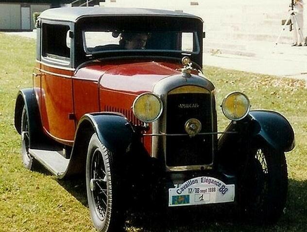 1924 - AMILCAR - Type L berline