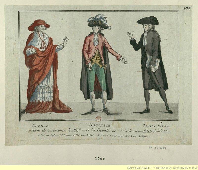 Costumes états généraux