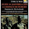 Film burkinabè à forges-les-eaux le 16 janvier prochain
