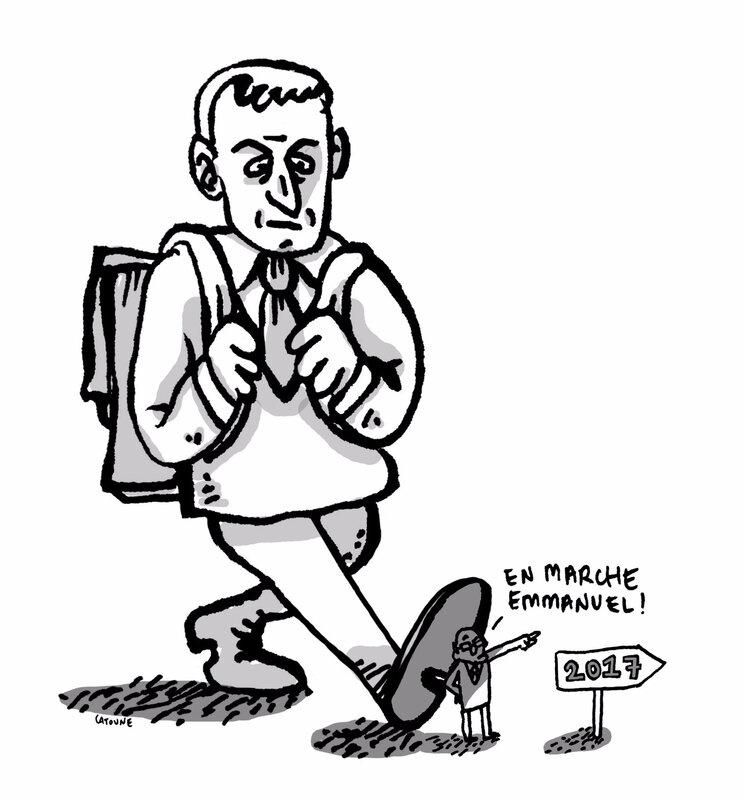 Macron-en-marche