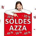 Soldes azza