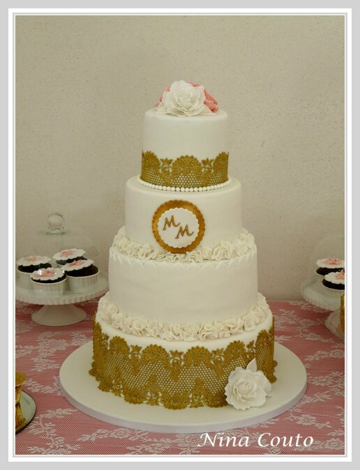 Wedding cake chateau des barrenques nina couto 2