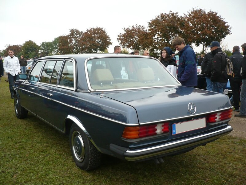 MERCEDES 250 W123 limousine 1983 Mannheim (2)
