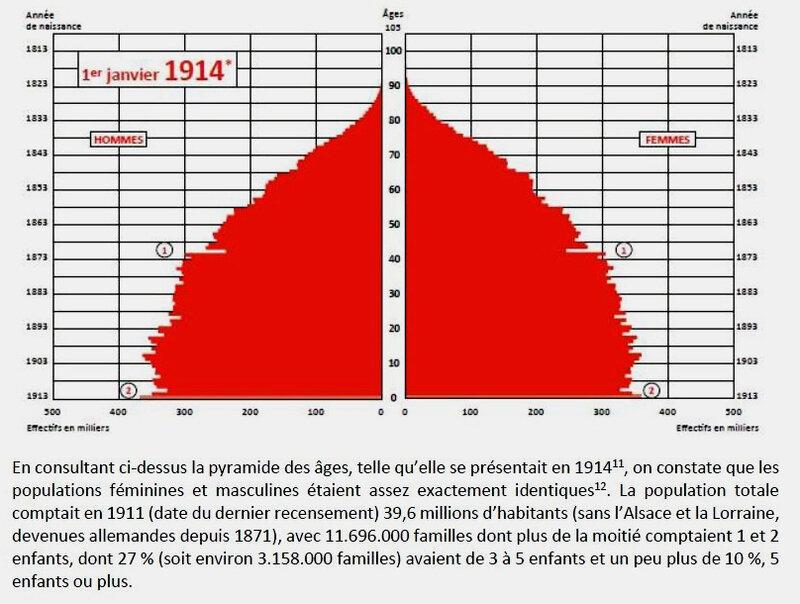 pyramide des âges 1914