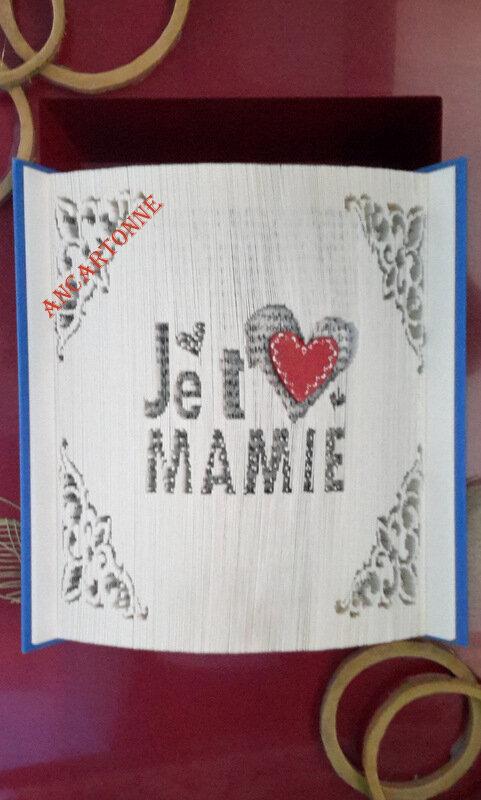J t'Aime Mamie