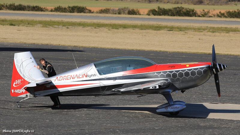 Photos JMP©Koufra 12 - La Cavalerie - Aérodrome - avion - Voltige - Extra 300 - 03032019 - 0643