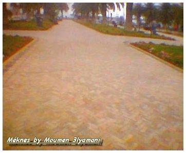 Jardin de la Gare Meknes Ville