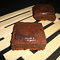 Brownie chocolat à la compote de pommes