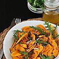 Salade de courge butternut aux graines