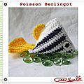 Poisson berlingot crochet tuto