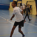 Badminton 10 octobre