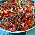 Gratin de légumes type tian