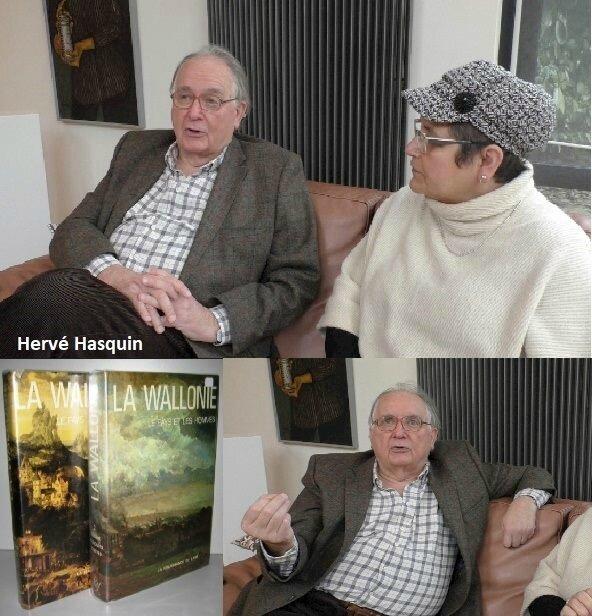 Reportage Actutv, Hervé Hasquin nous parle de son père, René-Pierre Hasquin
