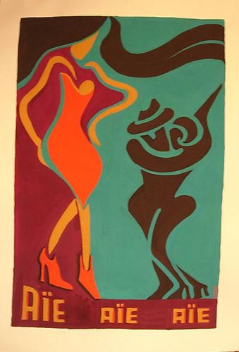 série danse: changement de partenaire