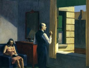 Edward Hopper, Hotel-by-a-railroad