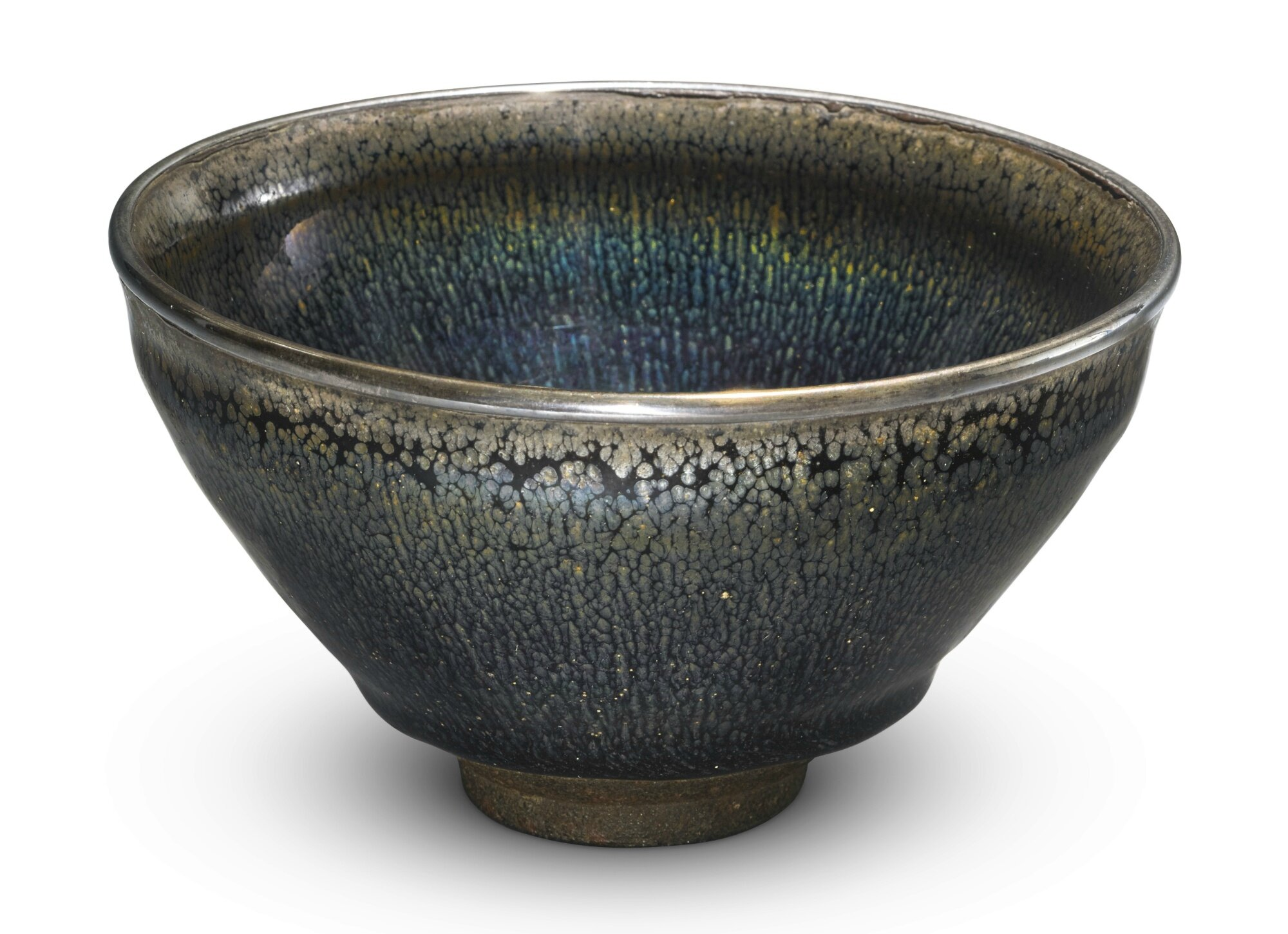 An exceptional 'Jian' 'nogime temmoku' tea bowl, Southern Song dynasty (1127–1279)