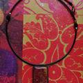 Petites tesselles en hidden résiné : le collier