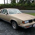 Oldsmobile cutlass supreme classic coupe-1987