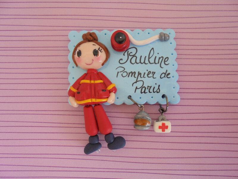 badge pompier