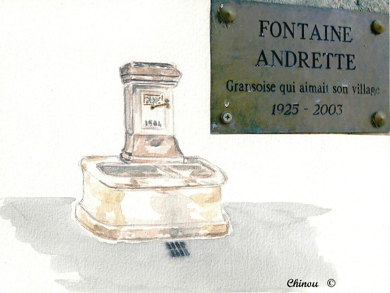 Fontaine Andrette Grans