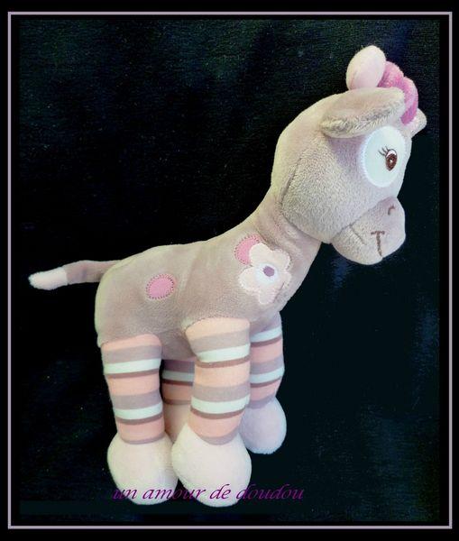 Peluche Doudou Arthur Et Lola Girafe Lola 26 Cm