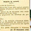 1946 28 décembre : médaille pour léon mittiaux