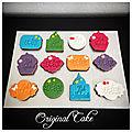 Biscuits décorés fête de l'aïd