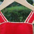 Une robe chasuble pour chloé: