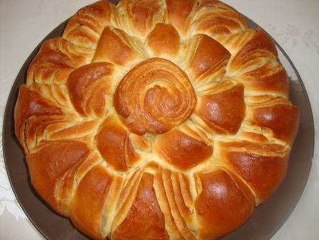 Pain brioche bulgare tournesol