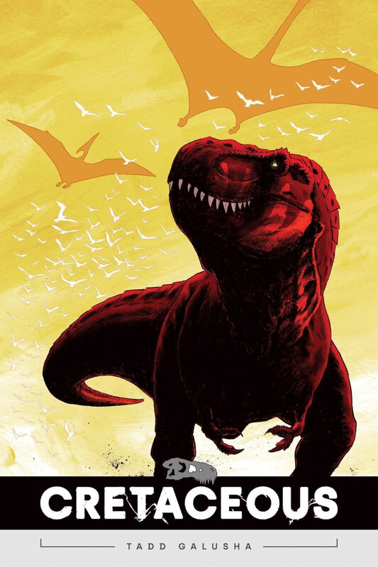 oni press cretaceous GN