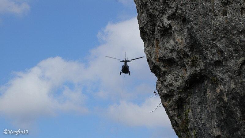 Photos JMP©Koufra12 - Le Caylar - Roc Castel - Hélicoptère - 26092018 - 1235