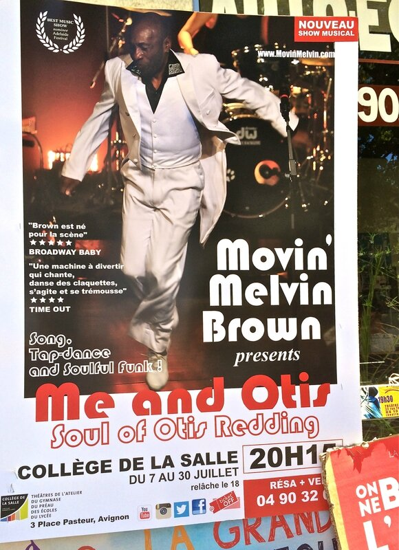 AVIGNON MOVIN'MELVIN BROWN affiche