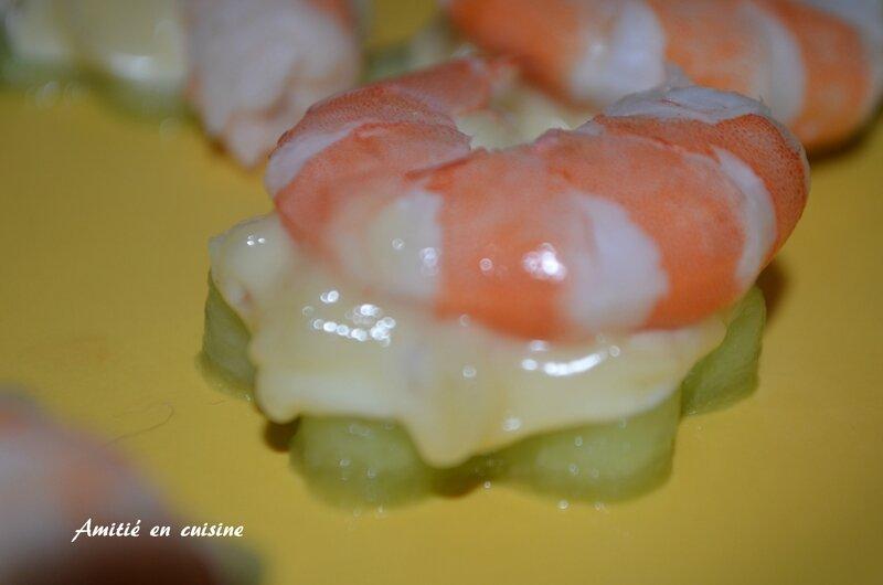 concombre crevette