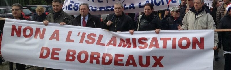 Manif FN Bordeaux-mosquee