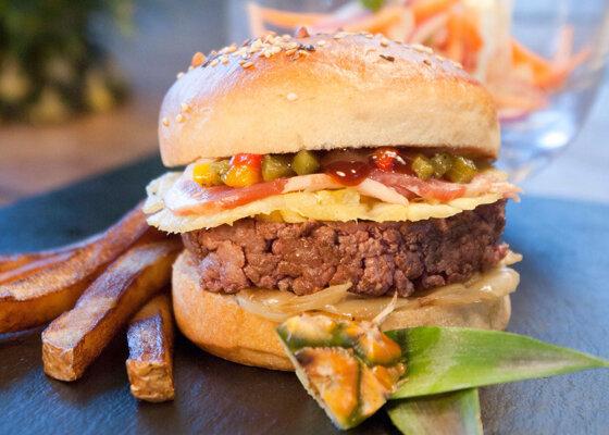 Burger sucré-salé (dit « Le Tom »)