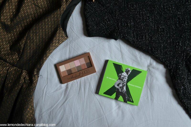 Robes, make up et musique, mes achats du mois!