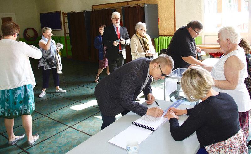 EUROPÉENNES 2019 HIRSON VOTES JEAN ZAY électeurs