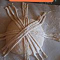 pain tressé façon osier 055