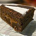Sacher torte, alias gâteau de sacher