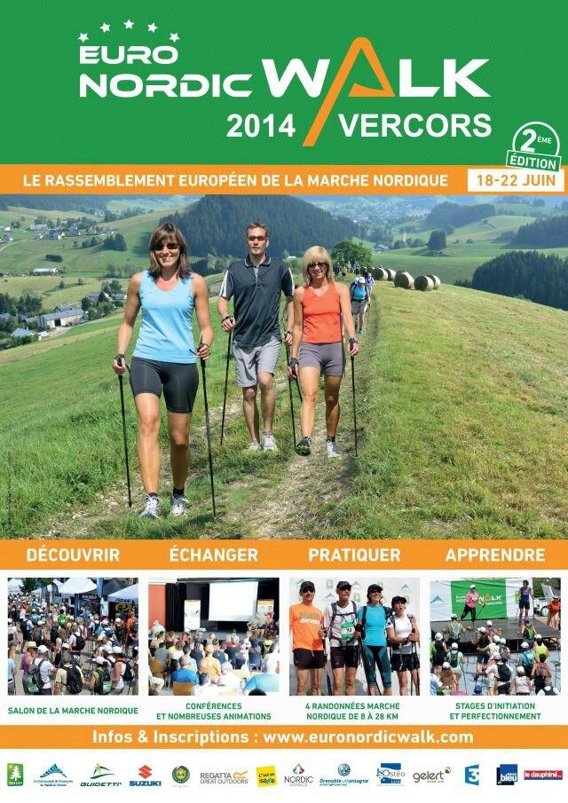 EuroNordicWalk'Vercors - Accueil