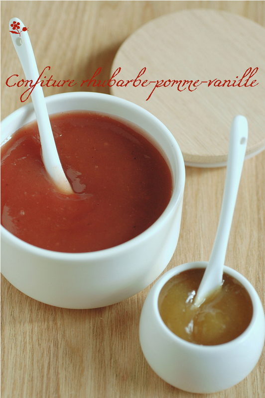 Confiture rhubarbe-pomme-vanille_1