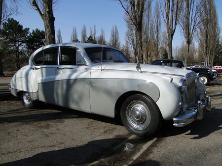 JAGUAR Mark IX 1959 Retrorencard 4