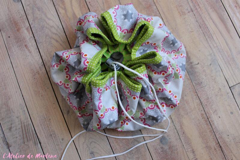 sac tapis pieds au sec